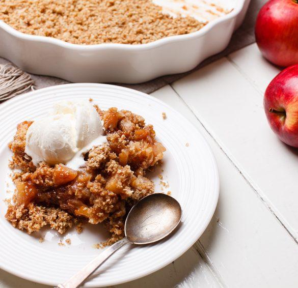 Parfait Aux Pommes Et Au Sirop D érable: Croustade Classique Aux Pommes Et Au Sirop D'érable